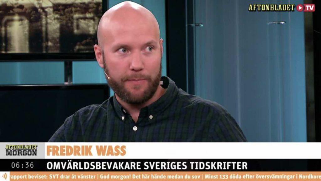 Fredrik Wass Aftonbladet TV Facebook-diskussion