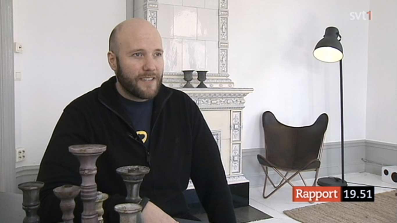 Fredrik Wass SVT