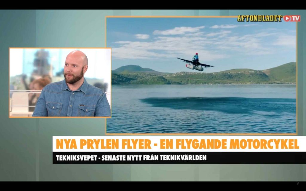 Fredrik Wass Aftonbladet Morgon Tekniksvepet