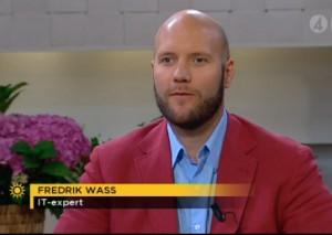 Fredrik Wass, TV4 Nyhetsmorgon
