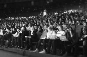 Publiken på Webbdagarna