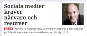 Puff på Computer Swedens sajt.
