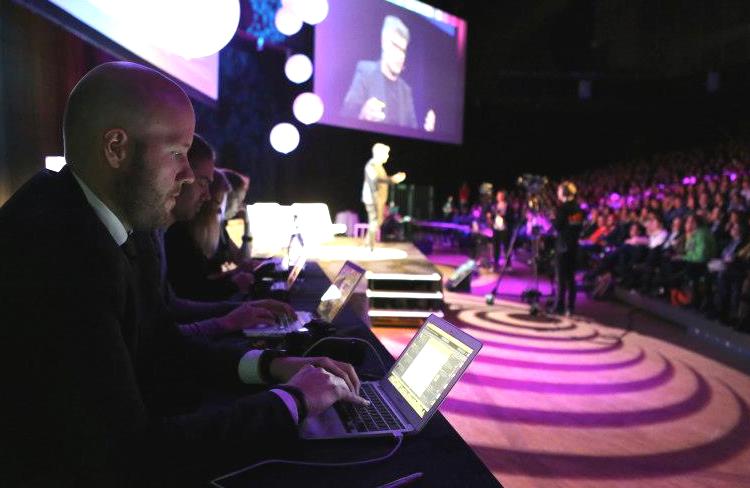 Livebevakning av konferensen Webbdagarna, arrangerad av Internetworld.