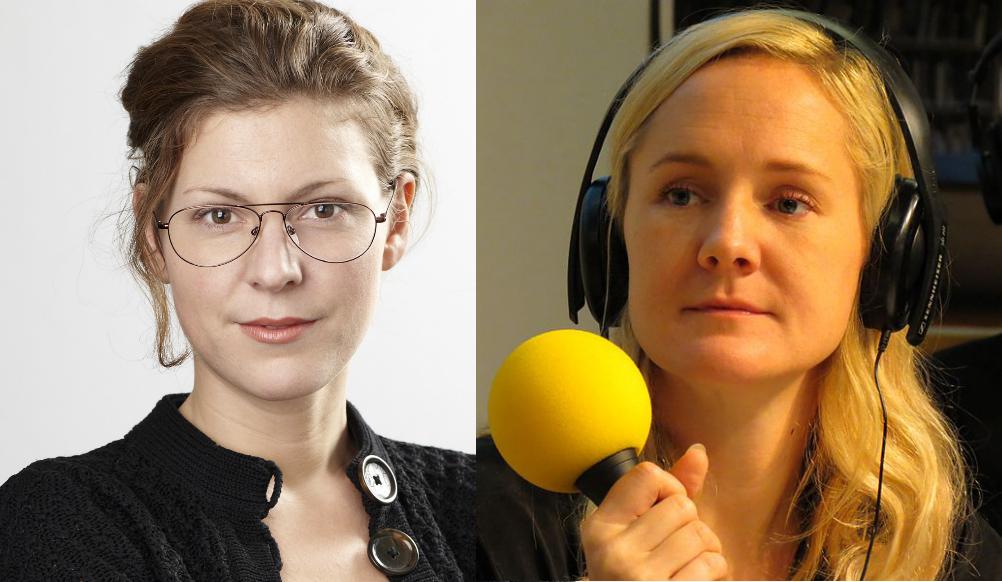 Stina Billinger och Lina Thomsgård.
