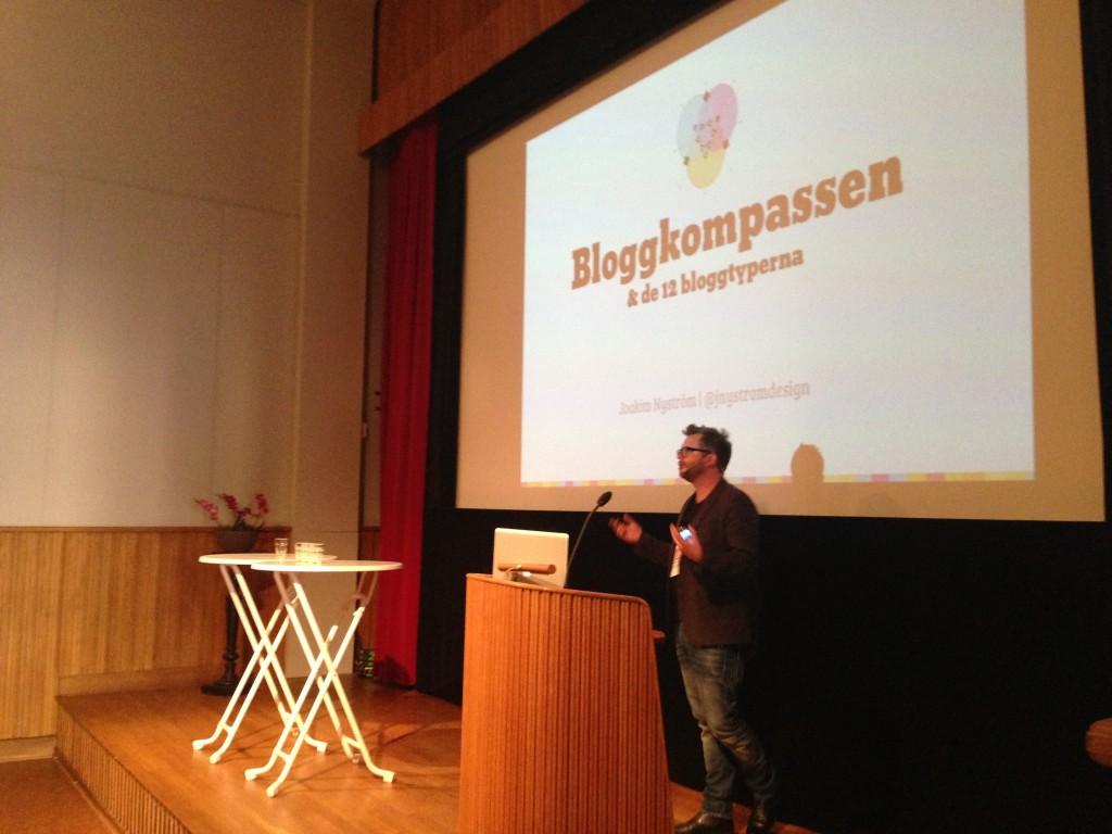Joakim Nyström och Bloggkompassen