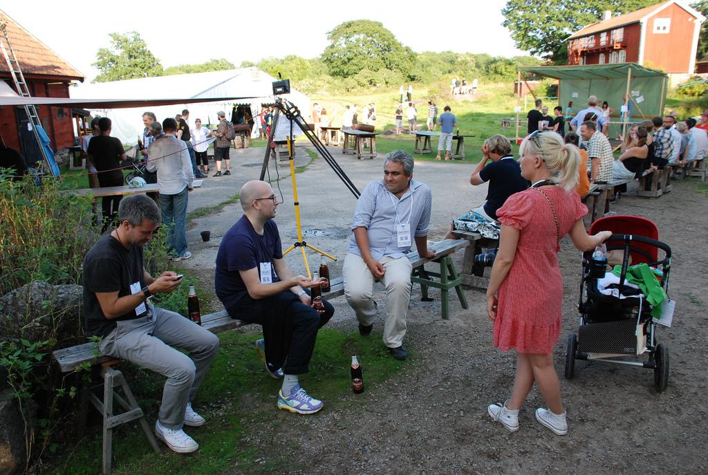 Björn Hedensjö, Björn Jeffery, Martin Palacious, Johanna Ögren och Tage Ögren på SSWC 2010.