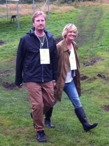 Tomas Wennström och Kristin Heinonen, arrangörer av SSWC.