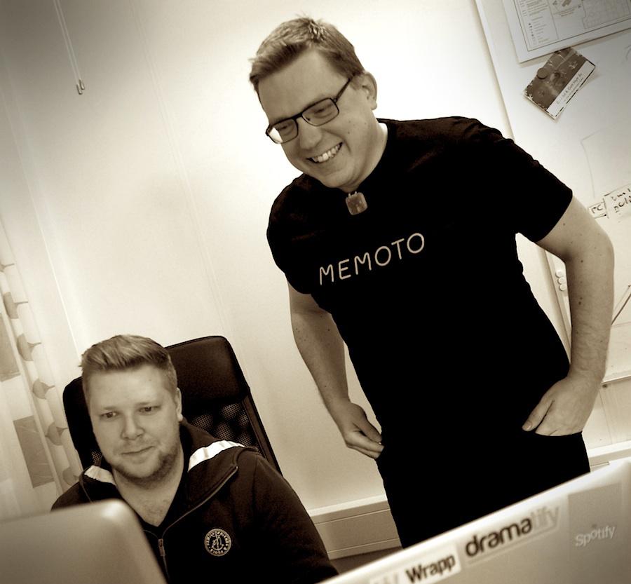 Martin Källström på Memotos kontor i Linköping. (Foto: Fredrik Wass)
