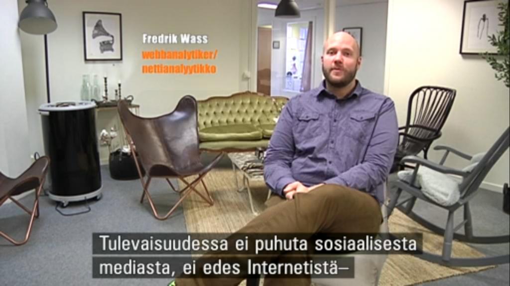 Fredrik Wass i Ei Saa Peittää