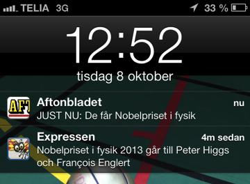 Nobelpriset Aftonbladet och Expressen