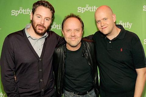 Spotify och Metallica