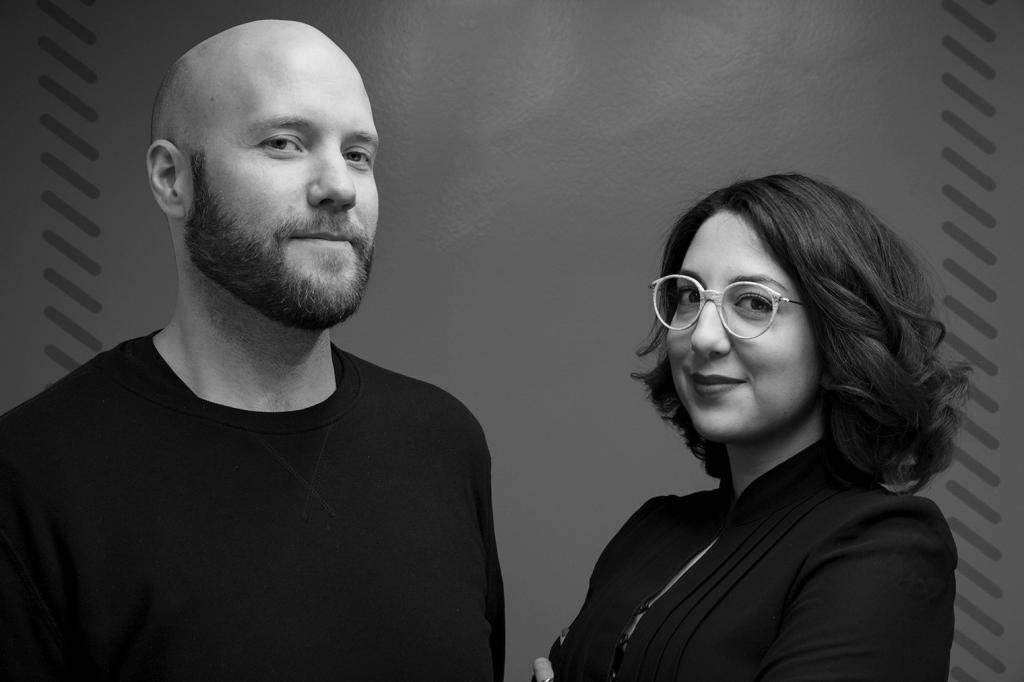 Fredrik Wass och Jasmin Yaya (Foto: Pelle Sten)