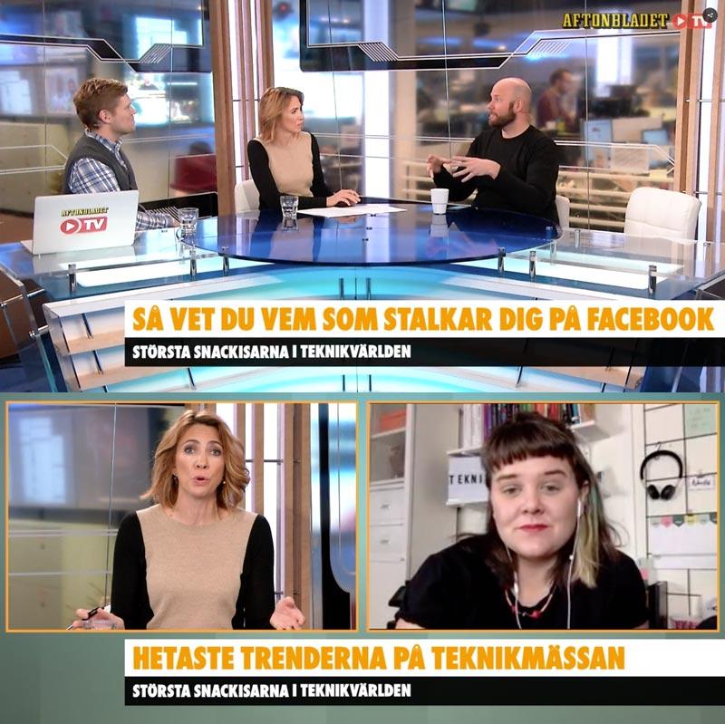 Tekniksvepet med Elin Häggberg i Aftonbladet Morgon