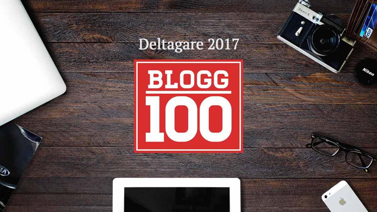 Blogg100 deltagare 2017