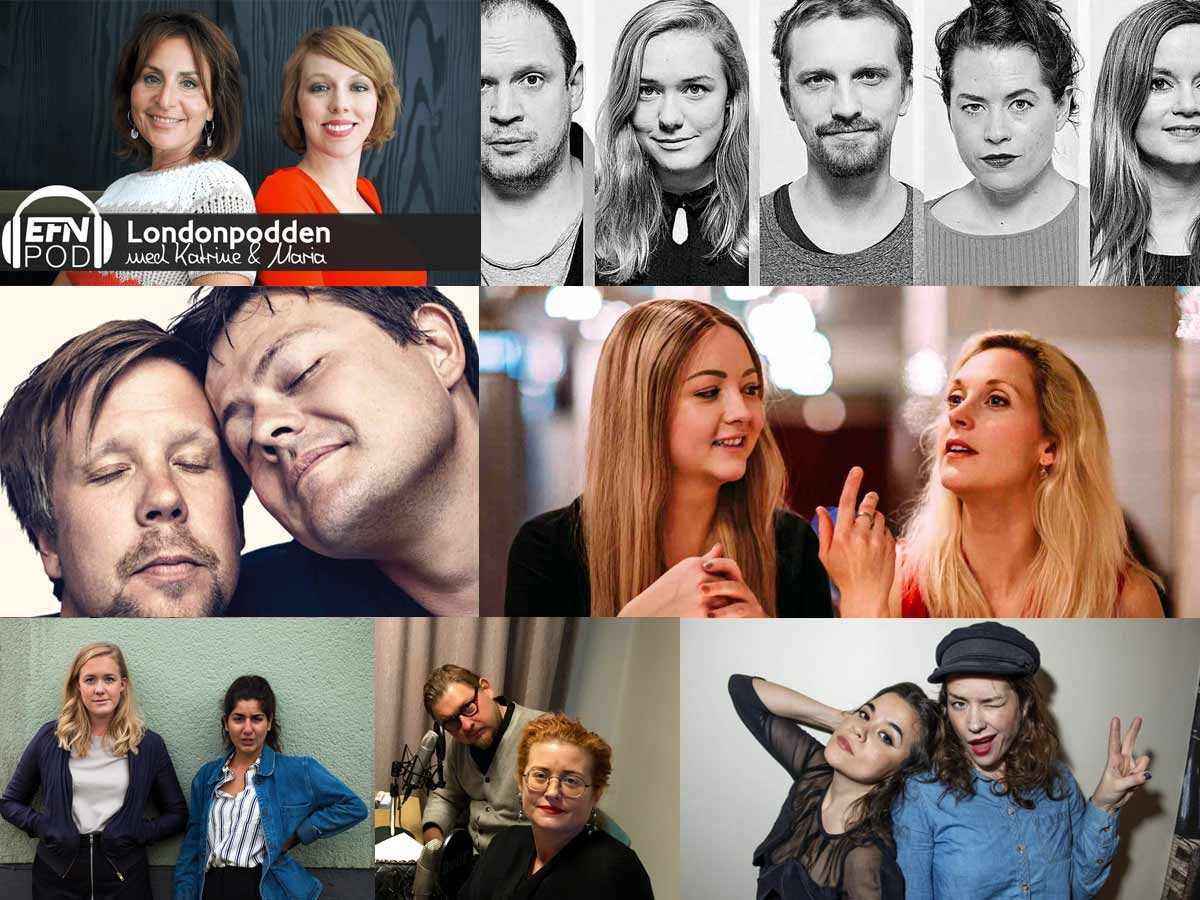 Tips 25 svenska poddar