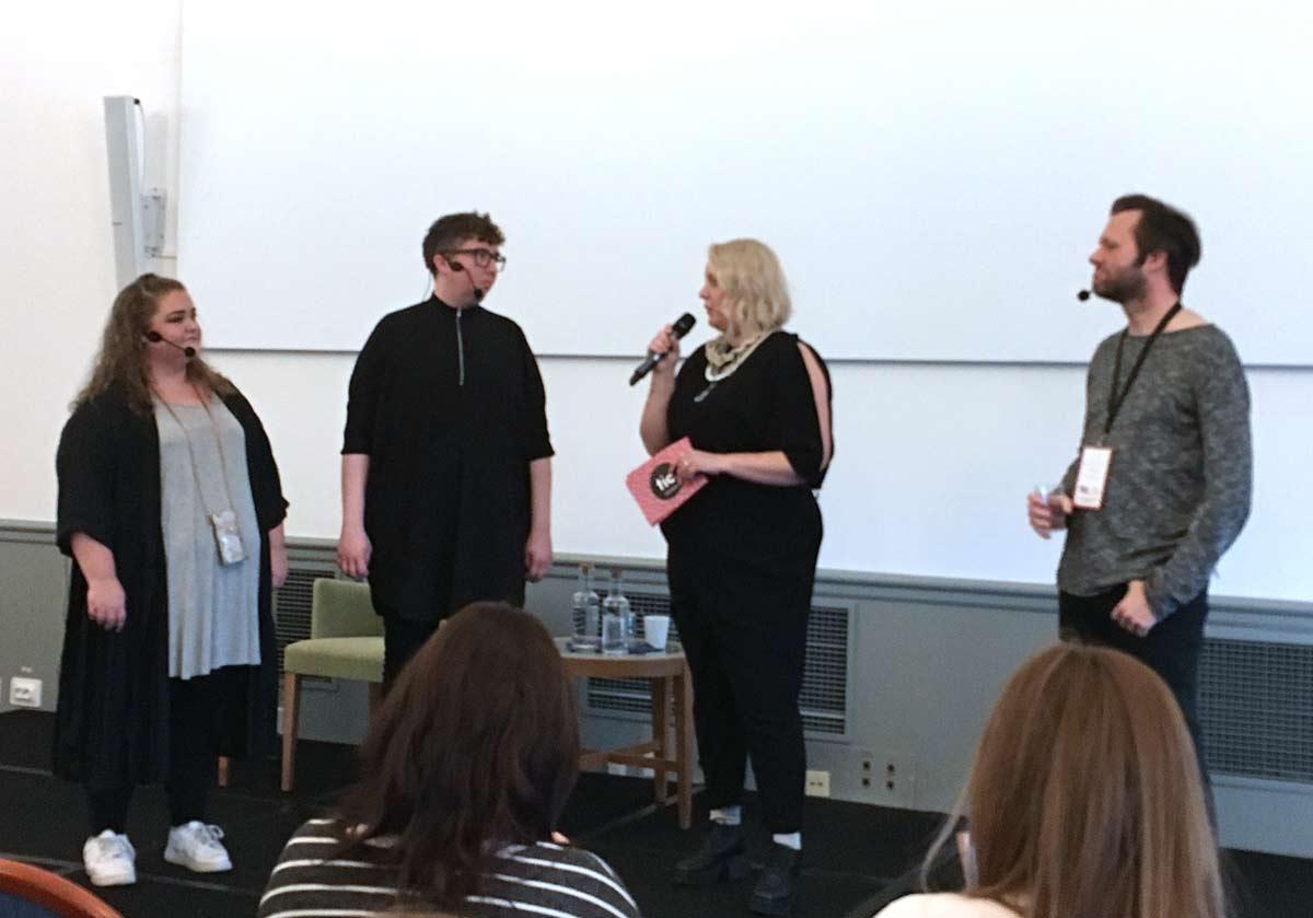 Youtuberna Felicia Bergström, HejaInternet och TheSwedishLad blir intervjuade av Linda Hörnfeldt och berättar om hur de byggt upp en publik på YouTube och vad man bör tänka på i sitt videoskapande.