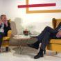 Eric Schmidt, styrelseordf. Alphabet och Carl Bildt, fd utrikesminister och mediejonglör. Foto: Fredrik Wass