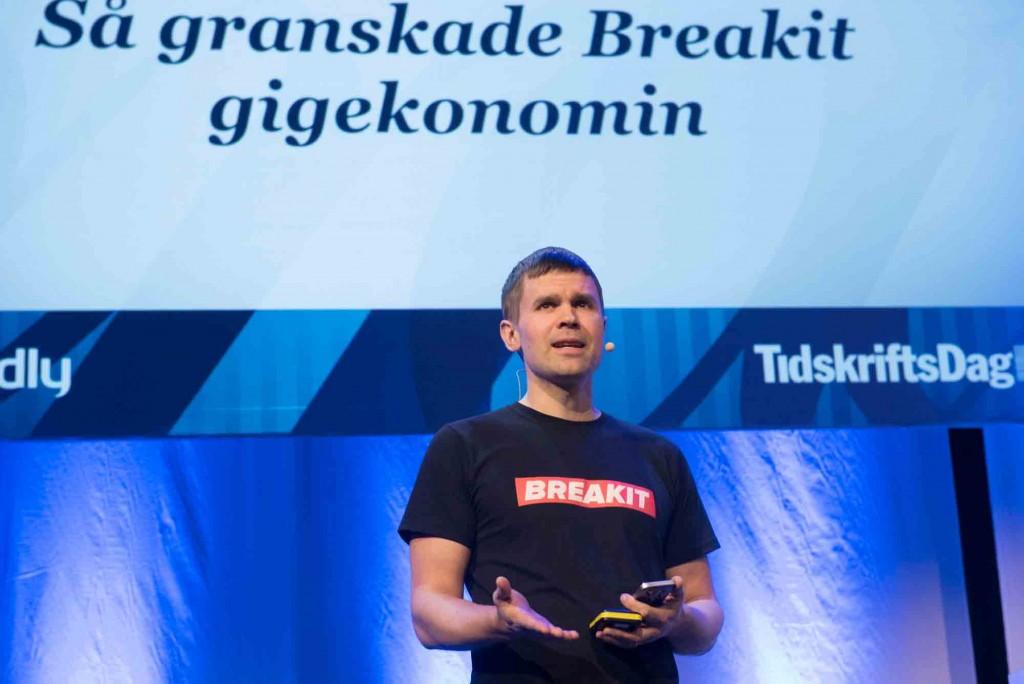 Tidskriftsdagen Erik Wisterberg, Breakit
