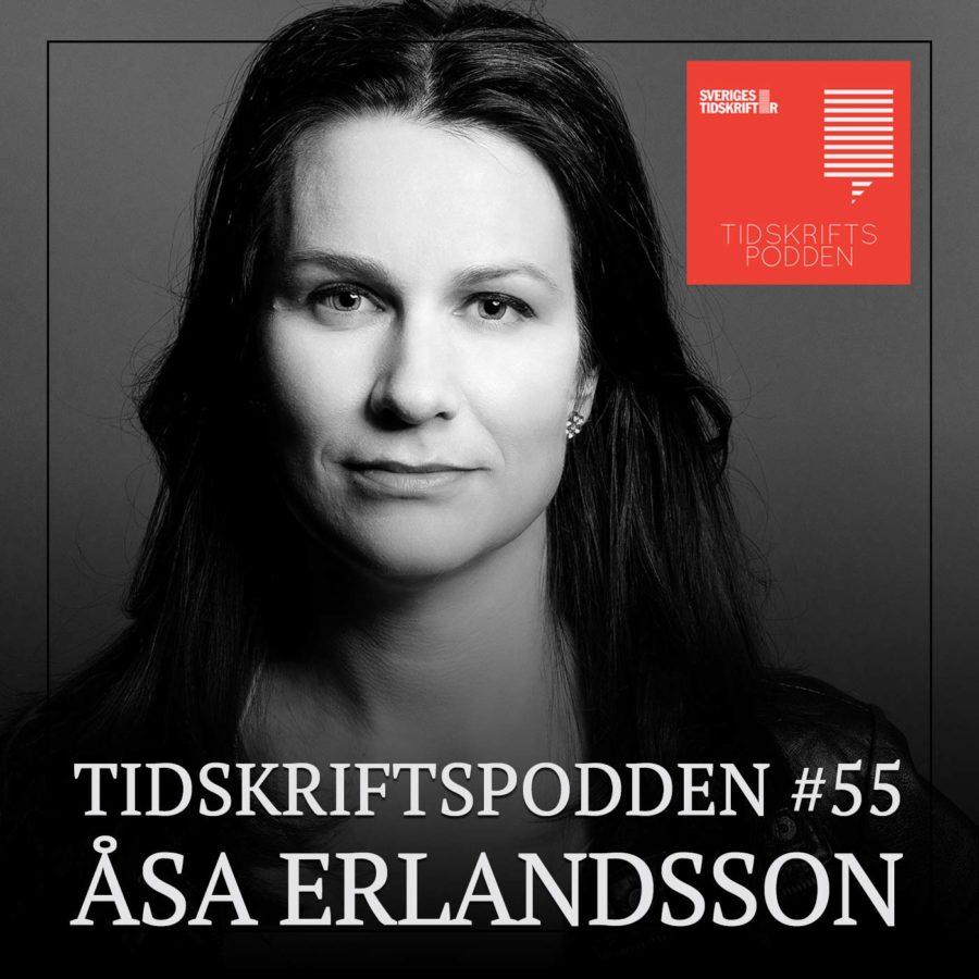 Åsa Erlandsson Tidskriftspodden